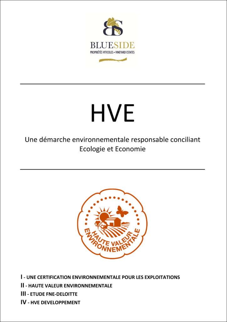 Dossier Blue Side - HVE - Une démarche environnementale responsable conciliant écologie et économie