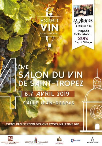 Blue Side - Propriétés Viticoles présent au 4ème Salon de Vin de Saint-Tropez les samedi 6 avril et dimanche 7 avril 2019