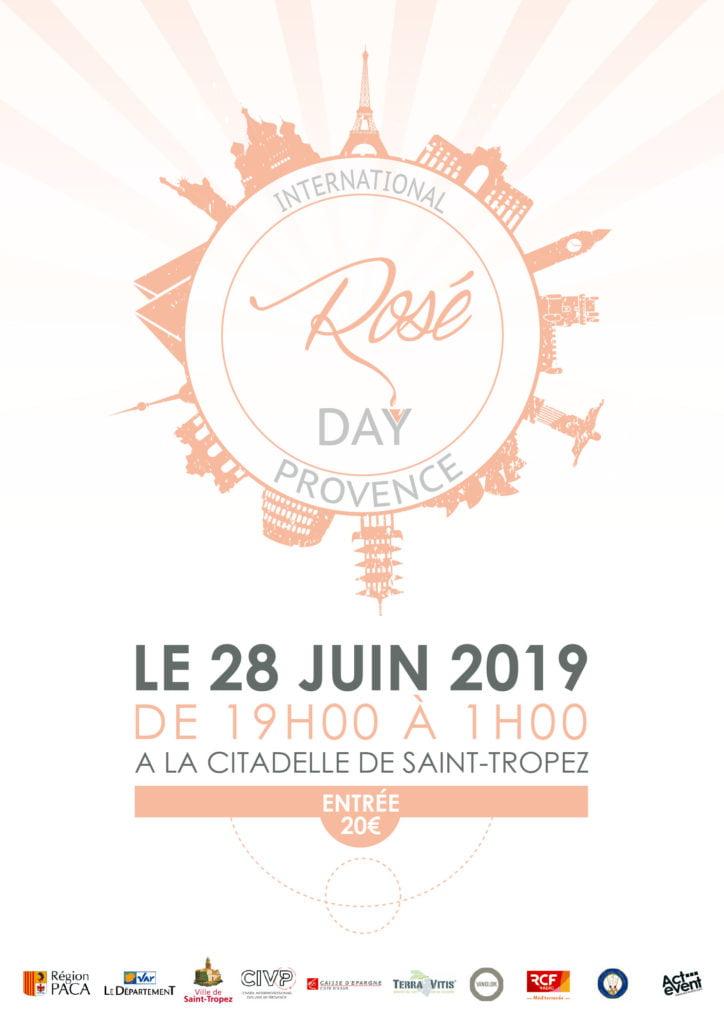 Blue Side soutient le Rosé Day 2019 - Rosé de Provence - Côtes de Probence